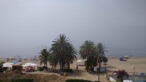 Sea fog midday